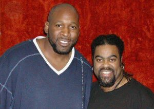NBA player Jazz Bassist Wayman Tisdale