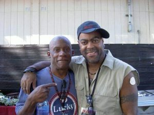 Bassist Gerald Johnson and Herman