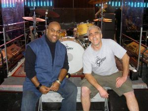 Herman and Drum Tech Mike Cormier