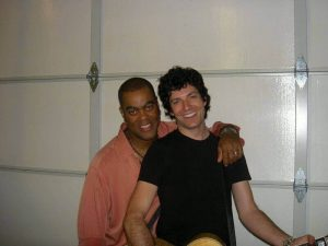 Herman with Guitarist/Producer Trace Ritter