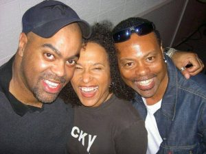 Herman with Vicki Randle and Freddie Washington