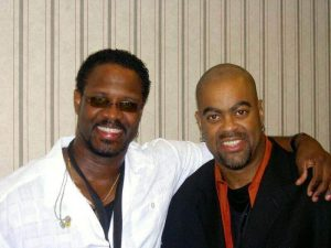 Sax man Everette Harp and Herman