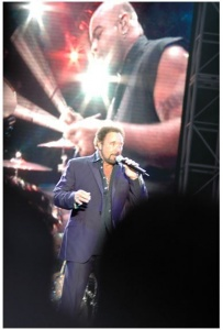 Tom Jones 65th birthday bash in Wales