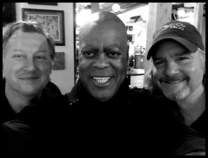 Steve Mackey, Herman Matthews, Pete Abbott