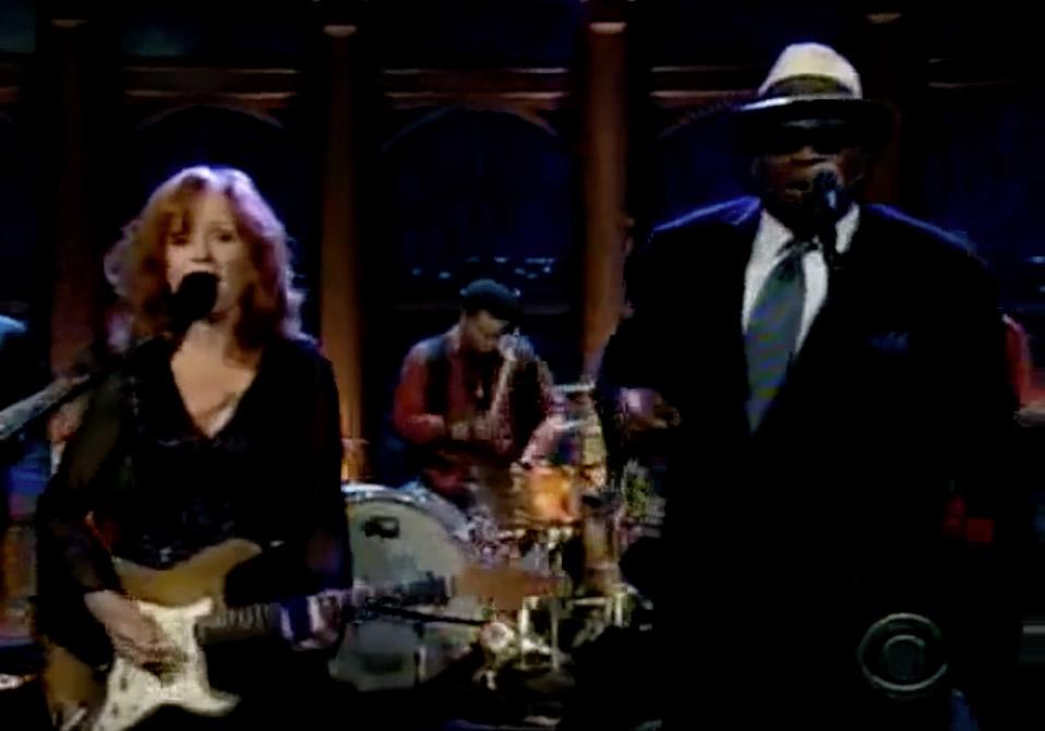 Herman Matthews w/ Bonnie Raitt & Taj Mahal on The Late, Late Show with Craig Ferguson