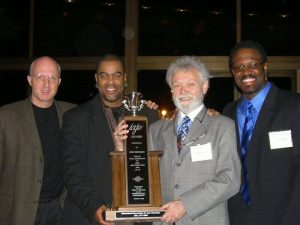 Doc Morgan 2005 IAZE award