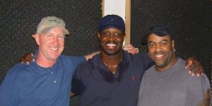 Producer Ned Albright and Saxophonist Everette Harp